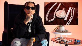 Tyga Shows Off His $250,000 Chain