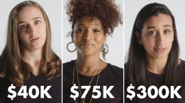 Women with Different Salaries on Guilty Spending