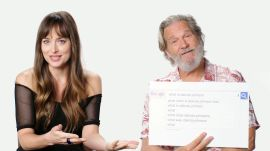 Dakota Johnson & Jeff Bridges Answer the Web's Most Searched Questions
