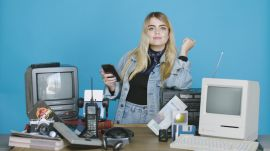 I Traded My Phone for a Bunch of 25 Year Old Tech for a Day