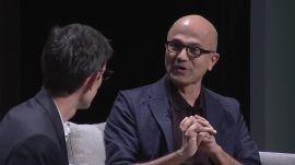 WIRED25: Inclusive Design -- Microsoft's Satya Nadella & Jenny Lay-Flurrie Talk Accessibility