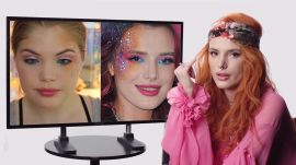 Bella Thorne Fact Checks Beauty Tutorials on YouTube
