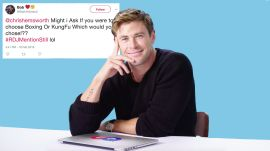 Chris Hemsworth Goes Undercover on Twitter, YouTube, and Quora