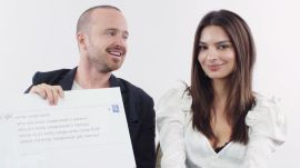 Emily Ratajkowski & Aaron Paul Answer the Web's Most Searched Questions