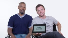 Jamie Foxx and Taron Egerton Teach You Medieval Slang