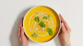 Vegan Butternut Squash and Coconut Soup
