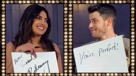 It's Priyanka Chopra vs. Nick Jonas in Vogue's Newlywed Game