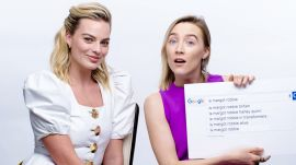 Margot Robbie & Saoirse Ronan Answer the Web's Most Searched Questions