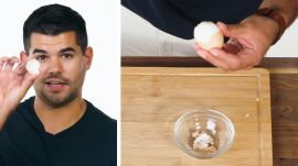 50 People Try to Peel a Hardboiled Egg