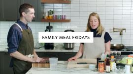 Family Meal Fridays: Molly and Chris