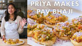 Priya Makes Pav Bhaji
