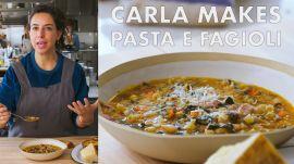 Carla Makes Pasta e Fagioli