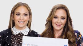 Jennifer Lopez & Leah Remini Answer the Web's Most Searched Questions