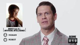 John Cena Guesses Famous Robots
