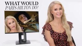 Paris Hilton Plays 'What Would Paris Do?'