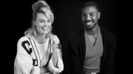 Margot Robbie and Michael B. Jordan Are Each Other's Movie Crushes