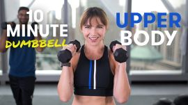 10-Minute Upper Body Dumbbell Workout