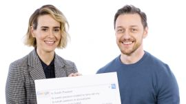 James McAvoy & Sarah Paulson Answer the Web's Most Searched Questions