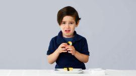Kids Try 100 Years of Eggs