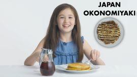 Kids Try Regional Pancakes