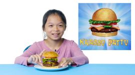 Kids Try Famous Foods From Cartoons