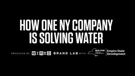 How One NY Company Is Solving Water