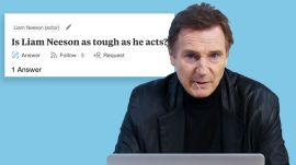 Liam Neeson Goes Undercover on Reddit, YouTube and Twitter