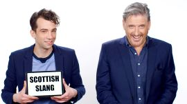 Craig Ferguson Teaches Scottish Slang to Jay Baruchel
