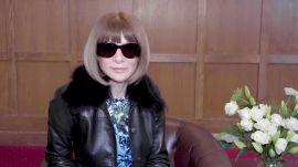 Watch: Anna Wintour Shares Her London Fashion Week Highlights