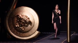 Behind the Scenes of Versace's Grunge Glamour Show