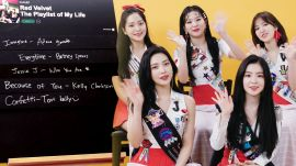 Red Velvet Creates The Playlist of Their Lives