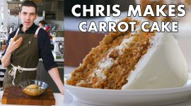 Chris Makes Carrot Cake