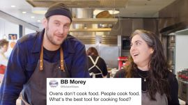 Bon Appétit's Brad & Claire Answer Cooking Questions From Twitter