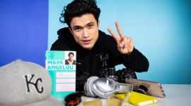 10 Things Charles Melton Can't Live Without