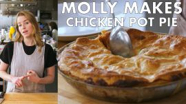 Molly Makes One-Skillet Rotisserie Chicken Pot Pie