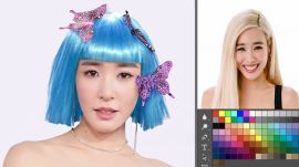Tiffany Young Photoshops Herself Into 7 Different Looks