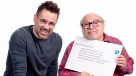 Colin Farrell & Danny DeVito Answer the Web's Most Searched Questions