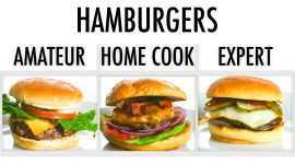 4 Levels of Hamburgers: Amateur to Food Scientist