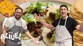 Brad Makes Tortillas