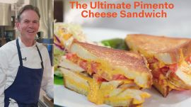 Chef Thomas Keller Takes on Augusta's Famous Pimento Cheese Sandwich