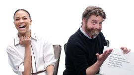 Zach Galifianakis & Zoe Saldana Answer the Web's Most Searched Questions