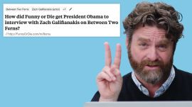 Zach Galifianakis Goes Undercover on Reddit, YouTube and Twitter
