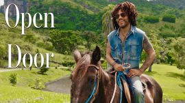 Inside Lenny Kravitz's Brazilian Farm Compound