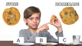 Kids Try Store-Bought vs Homemade Cookies