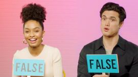 Yara Shahidi and Charles Melton Play Fact or Fiction