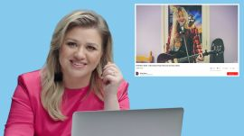 Kelly Clarkson Watches Fan Covers on YouTube