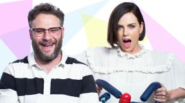 Charlize Theron, Seth Rogen, and Boyz II Men Review the 1990s