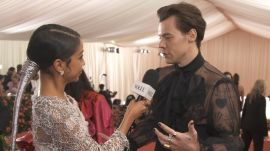 Harry Styles on His Sheer Gucci Outfit and Being Met Gala Co-Chair