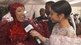Cardi B on Her Ruby Nipples and Feminism-Inspired Dress