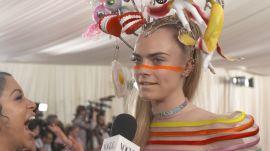 Cara Delevingne on Her Over-The-Top Met Gala Look